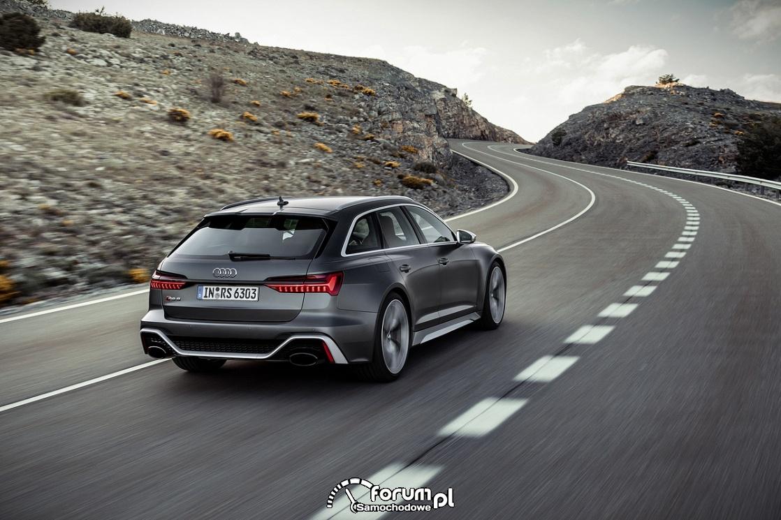 Jeszcze bardziej zwrotne: zawieszenie - Audi RS 6 Avant