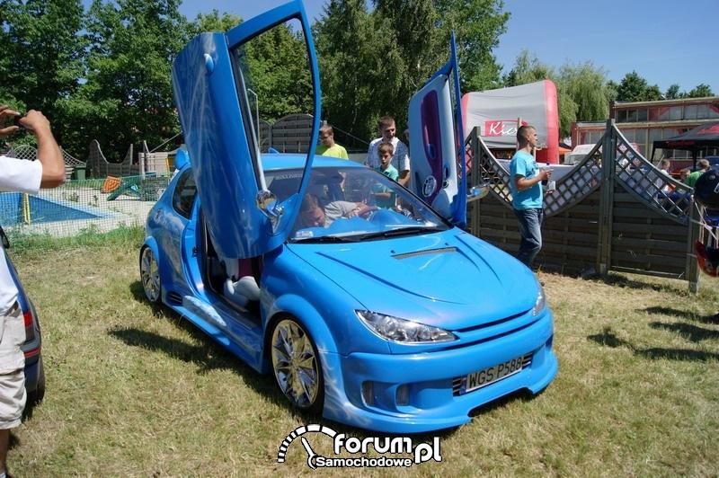Peugeot - lambo doors