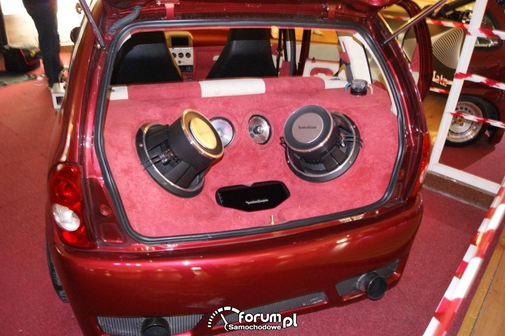 Zabudowa bagażnika Car Audio - Opel Corsa B
