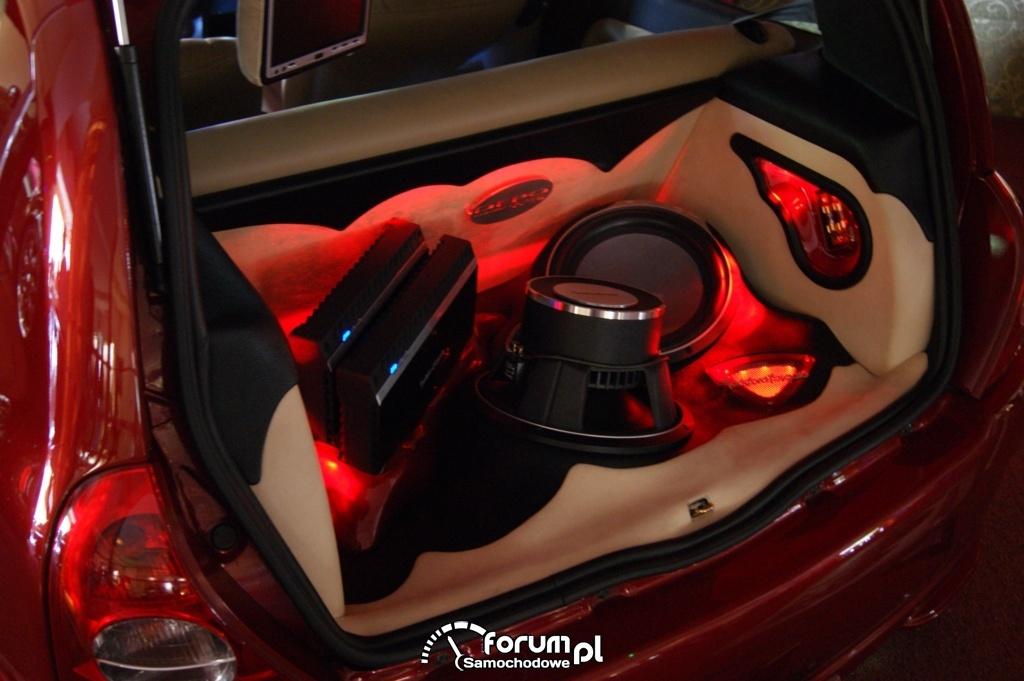 Zabudowa bagażnika Car Audio - Renault Clio