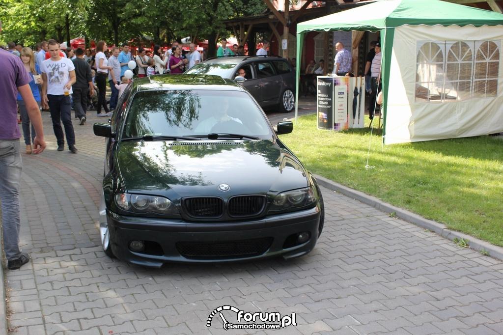 BMW M3 E46, przód
