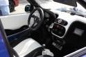 Fiat Seicento, Tuning, biało-czarne wnętrze
