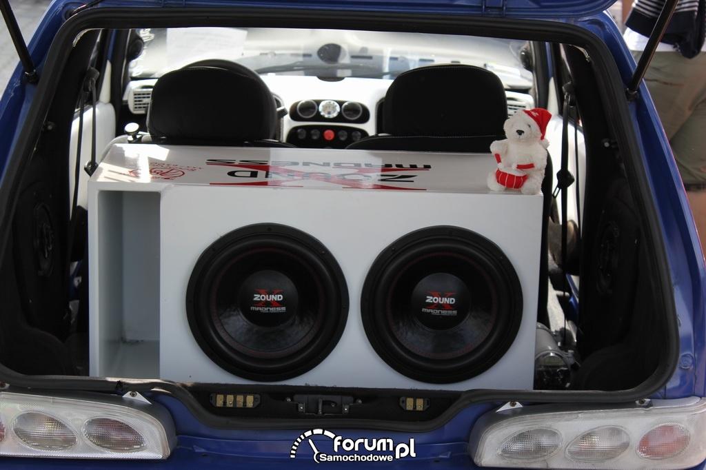 Fiat Seicento, Tuning, skrzynia basowa