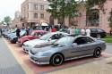 Samochody na parkingu WPP w Skaryszewie