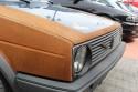 Volkswagen Golf II przód pokryty rdzą