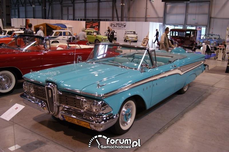Old car cabrio
