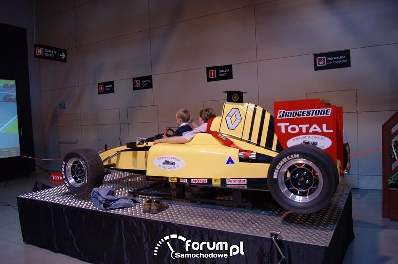 Symulator jazdy Formuła 1