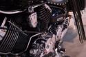 Yamaha - chromowany silnik