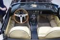 Jaguar E-type 3.8 kabriolet, wnętrze