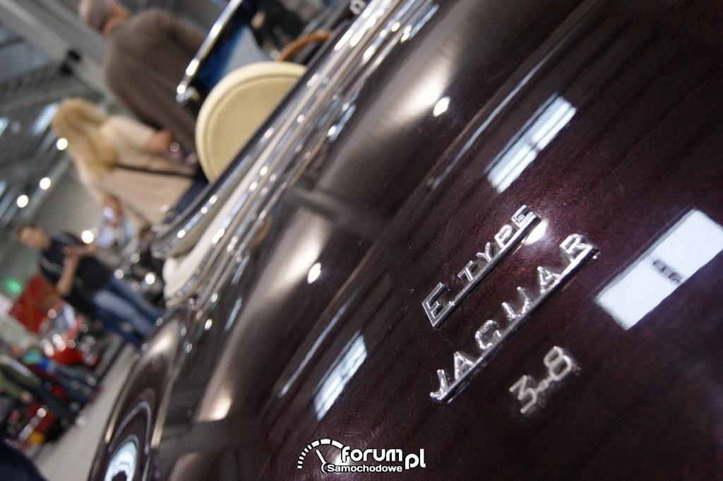 Jaguar E-type 3.8 kabriolet, znaczek