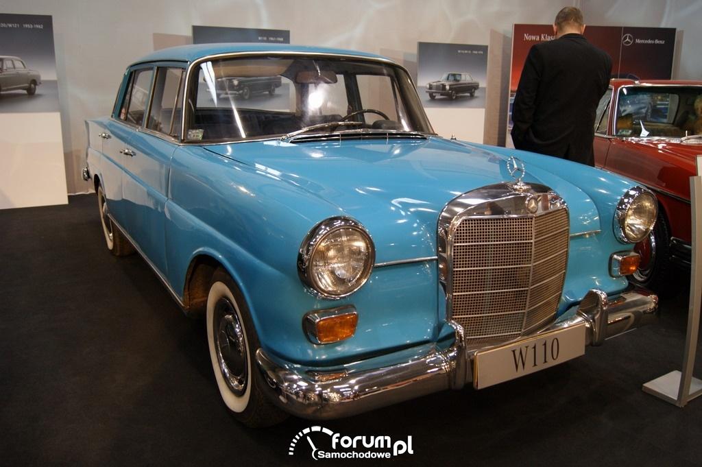 Mercedes-Benz W110, produkowany w latach 1961-1968