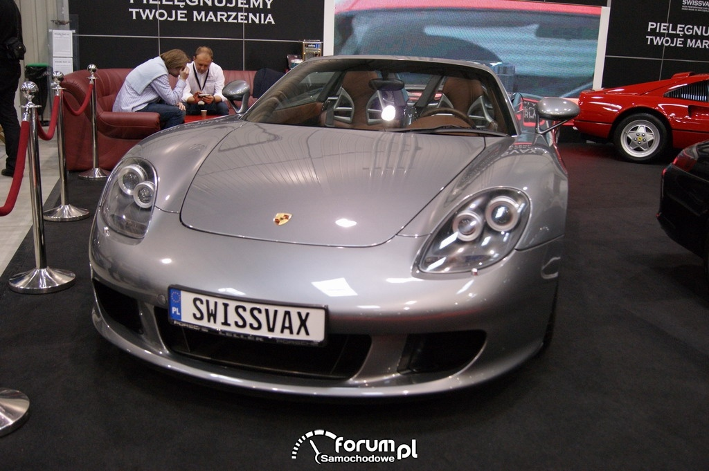 Porsche Carrera GT, przód