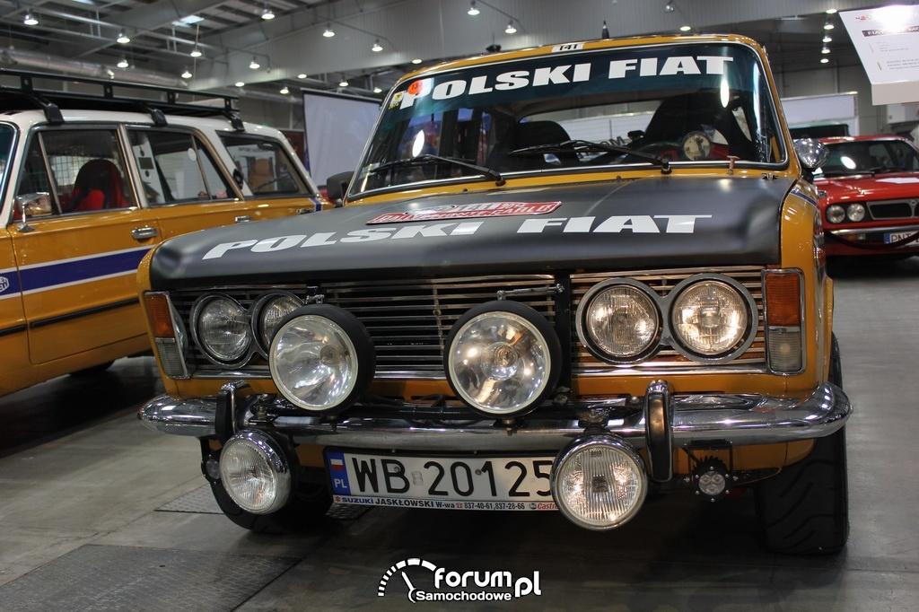 Fiat 125P Monte Carlo, 1972 rok