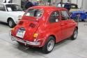 Fiat 500, tył