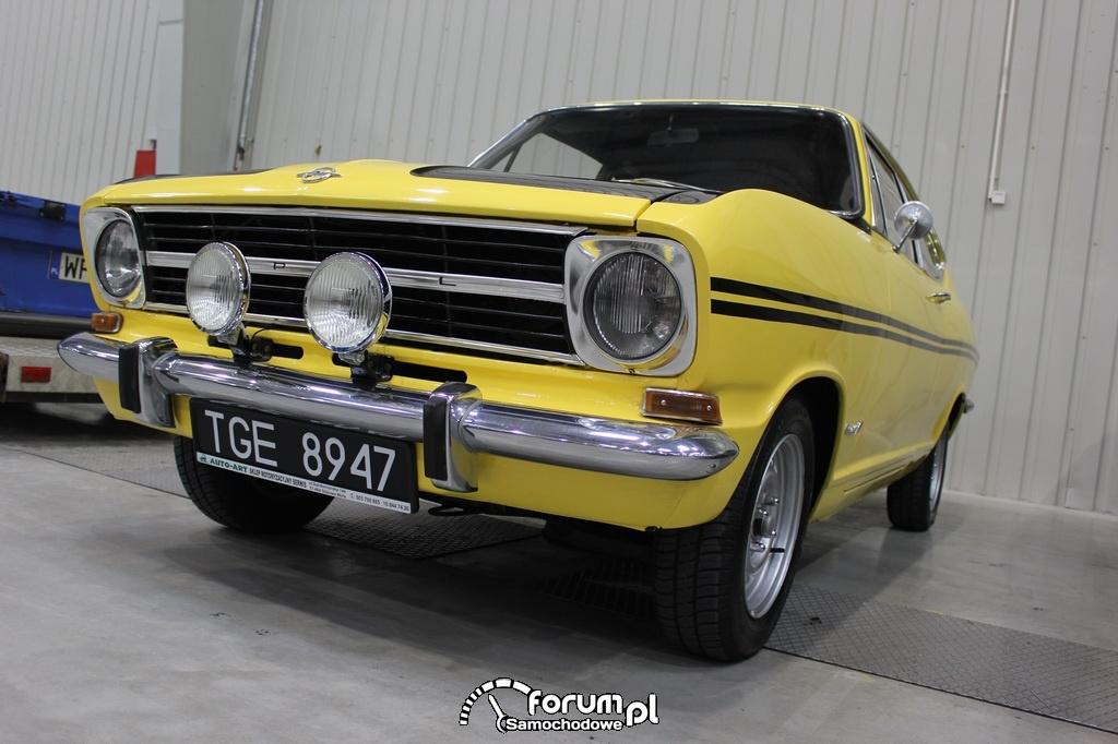 Opel Kadett B Rallye Coupe, 1969 rok, przód