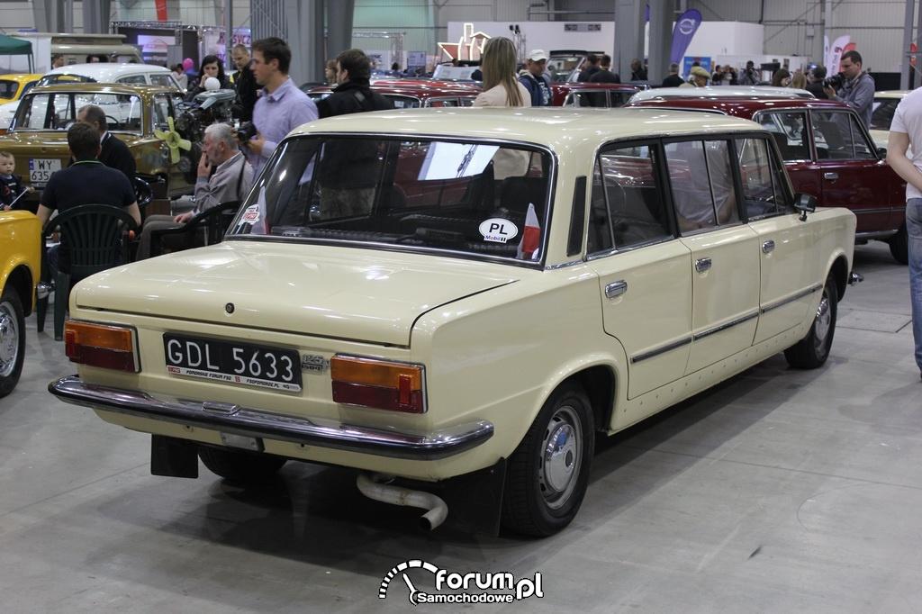 Polski Fiat 125P Jamnik, 1976 rok, tył