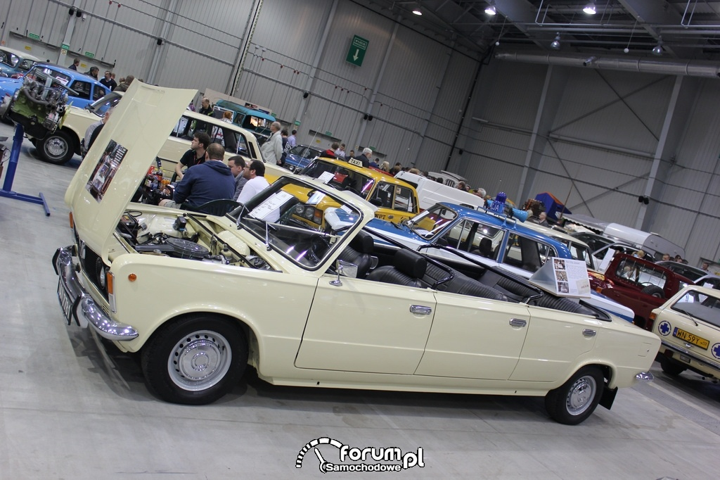 Polski Fiat 125P Jamnik Kabriolet, 1975 rok