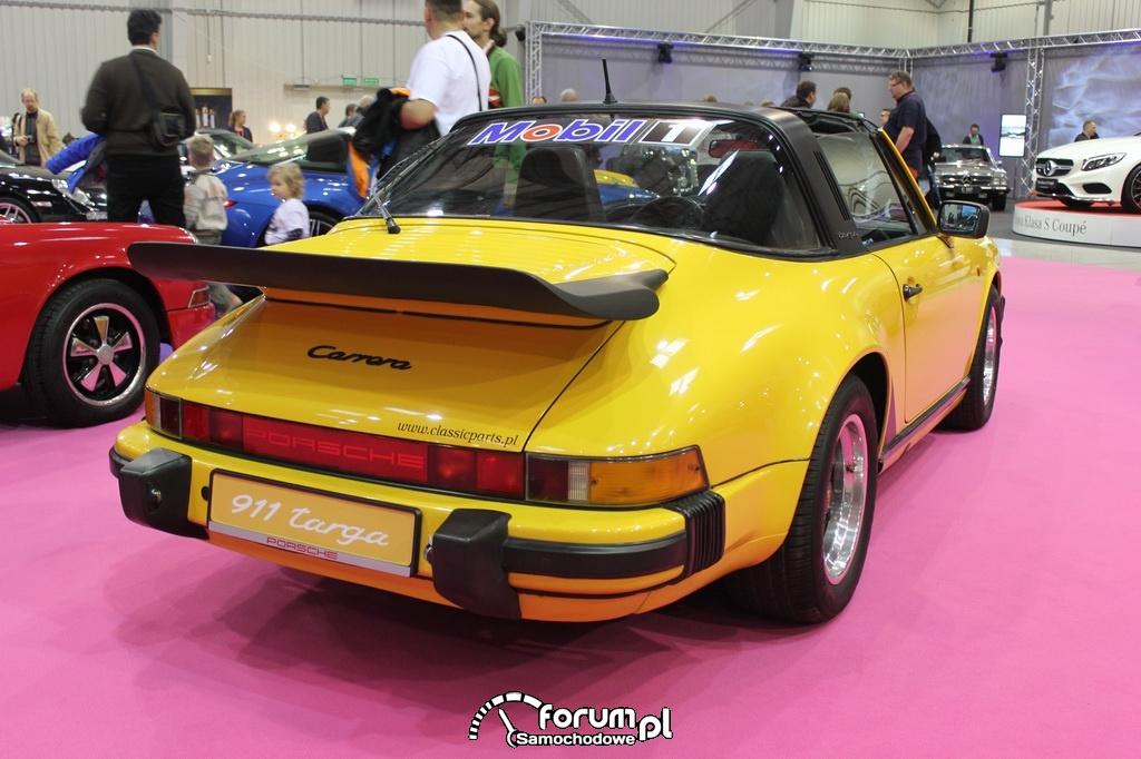 Porsche 911 targa, G-model, tył