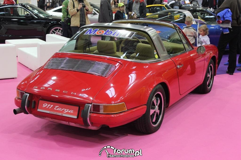 Porsche 911 targa, tył