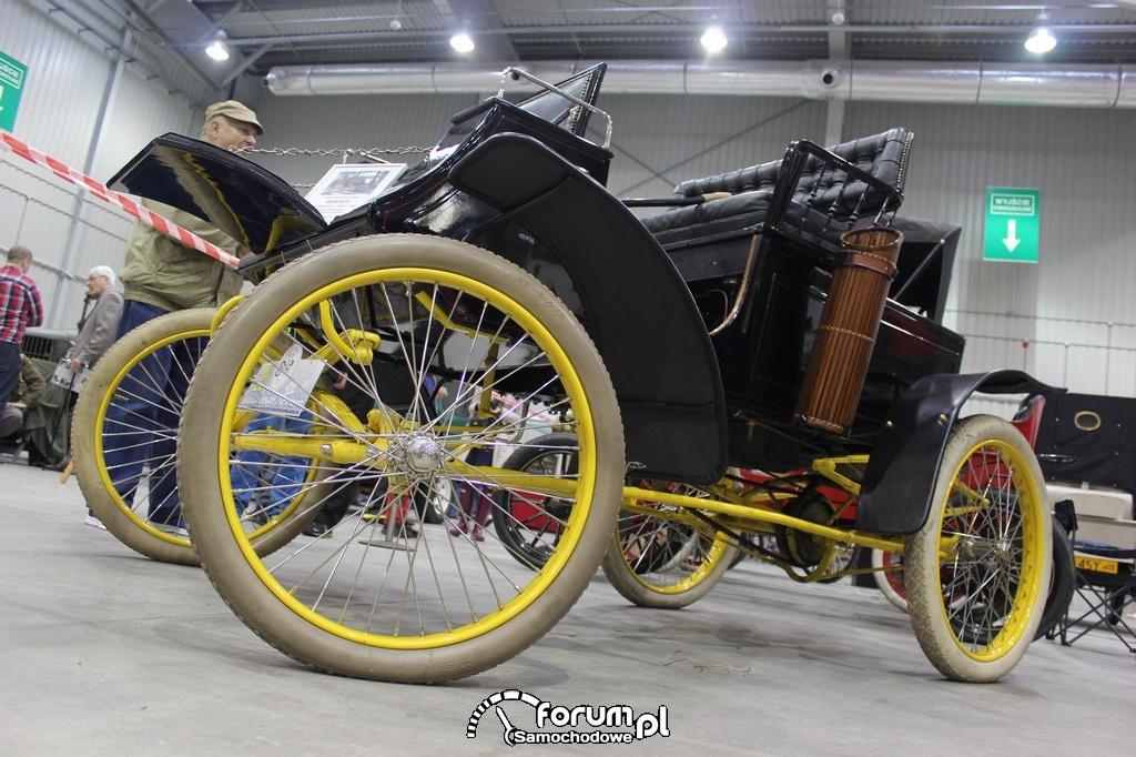 Samochód parowy firmy GROUT, 1899 rok