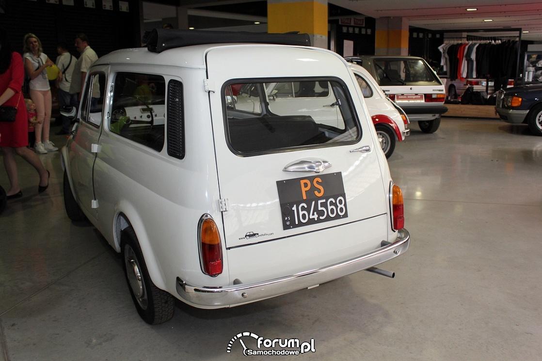 Fiat 500 kombi, tył