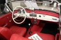 Mercedes-Benz 190SL, 1958 rok, wnętrze