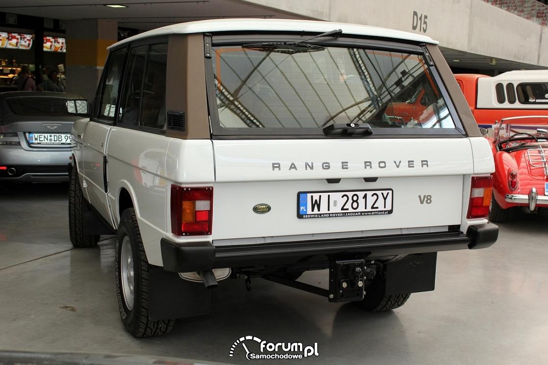 Range Rover V8 Classic, tył