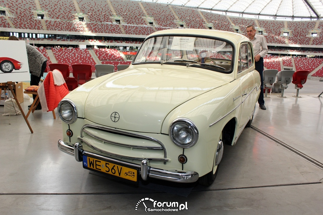 Syrena 102, 1962 rok