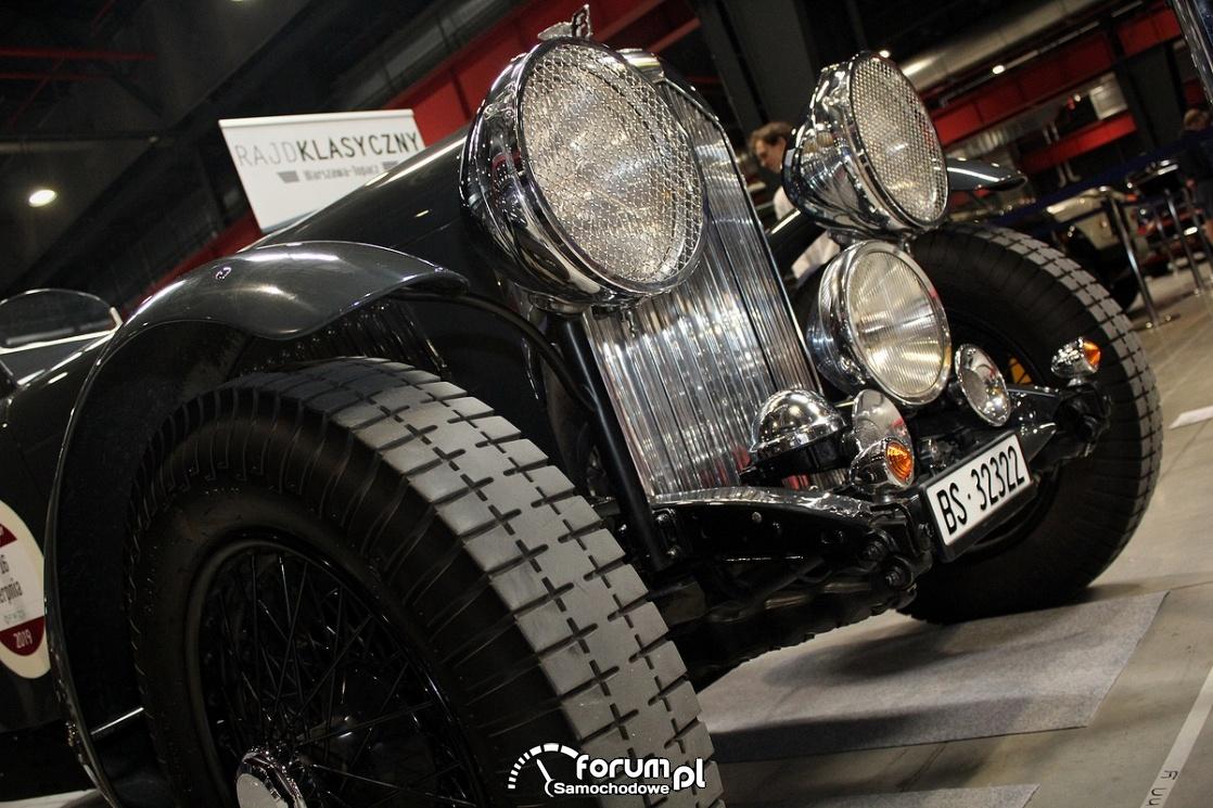 Bentley 3.5 L Sports, 1936 rok, przód