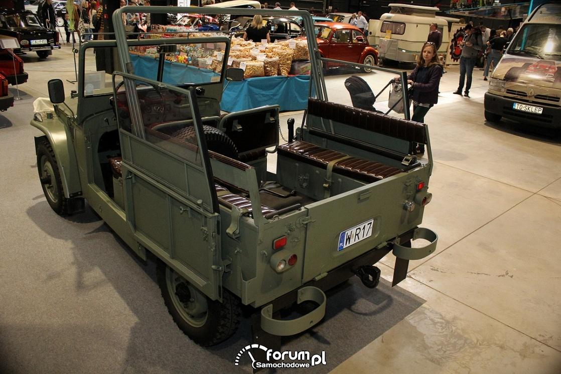 Fiat Campagnola, tył