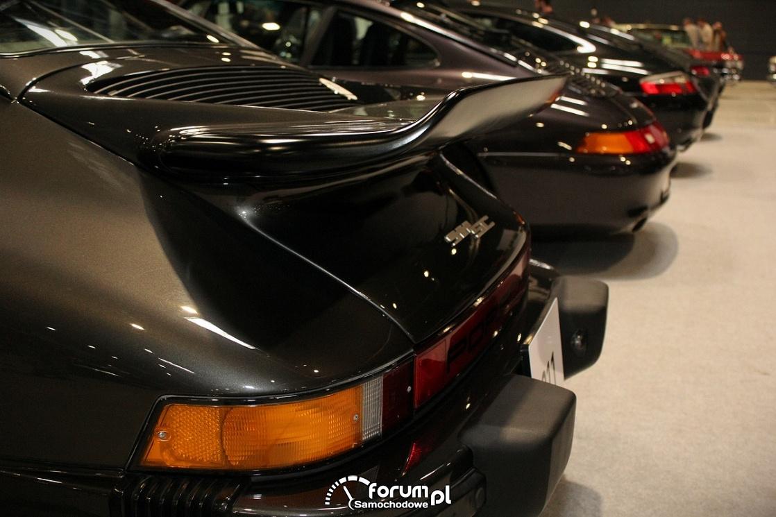 Porsche 911 SC Weissach, tylna płetwa