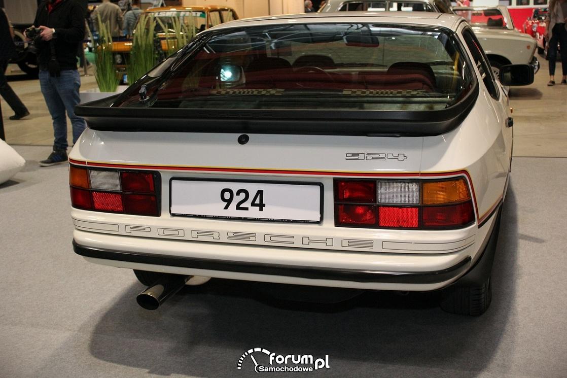 Porsche 924 Le Mans, tył