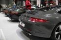 Porsche, tył