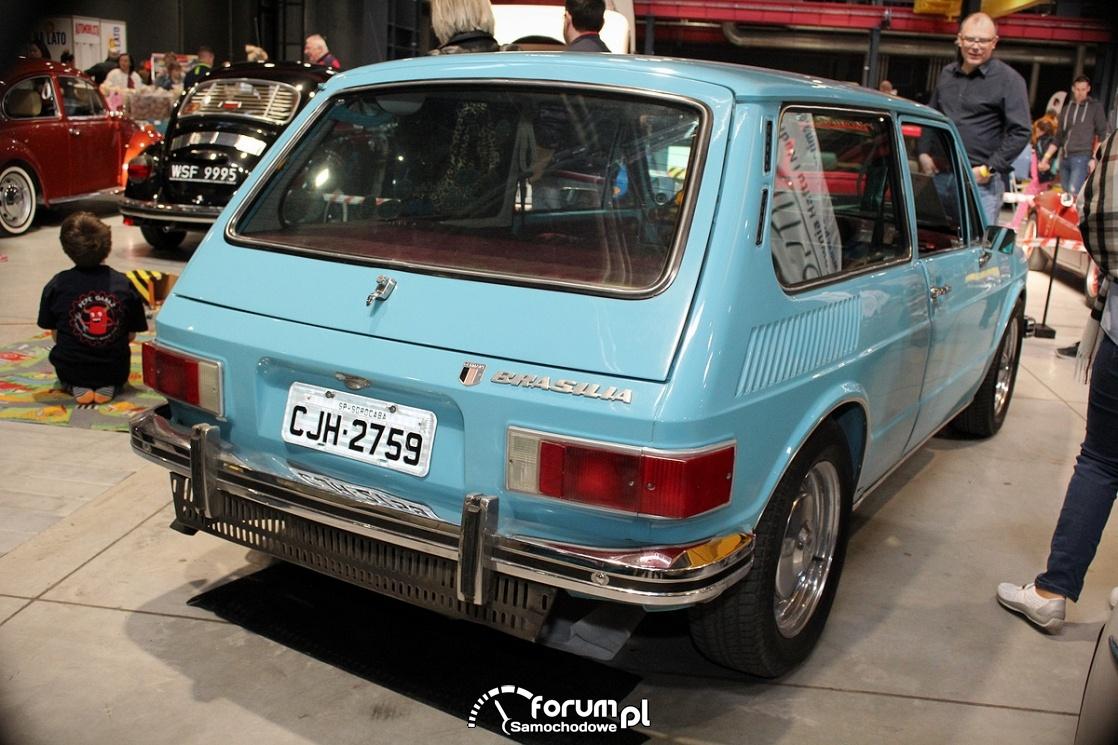 Volkswagen Brasilia, tył