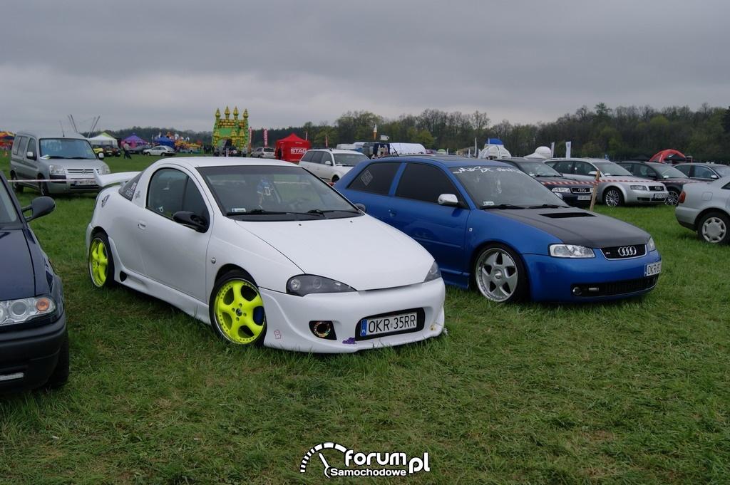 Opel Tigra, Audi A3