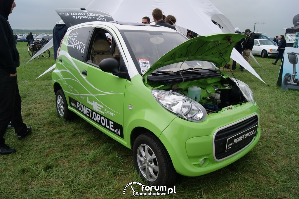 Romet 4E, samochód elektryczny