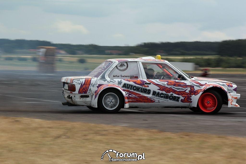BMW E30 Coupe, drift, 11