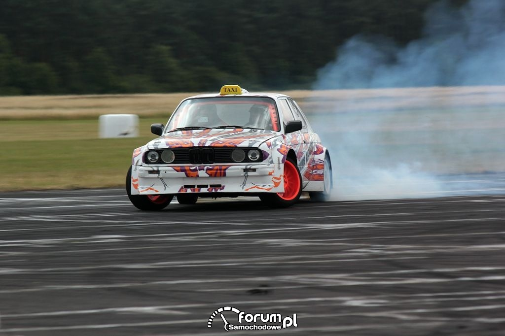 BMW E30 Coupe, drift, 13