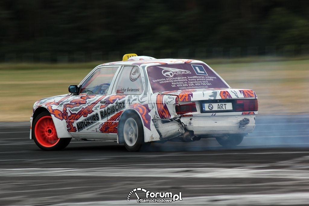 BMW E30 Coupe, drift, 14