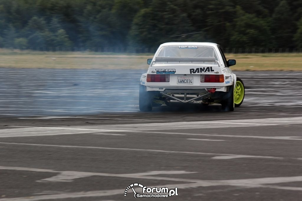 BMW E30 Coupe, drift, 8