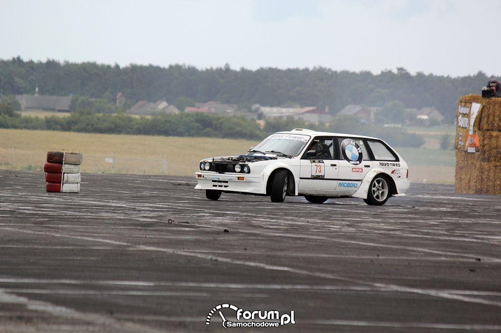 BMW E30 kombi, drift