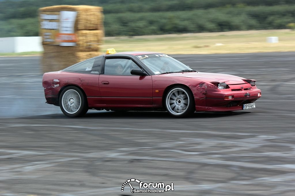 Nissan 200SX s13, taxi drift, 4