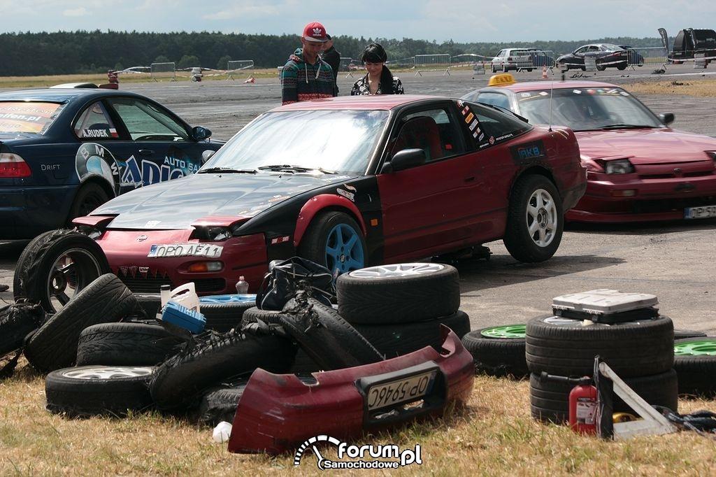 Przygotowanie samochodu do driftu