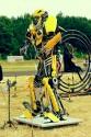 Transformers - robot z części samochodowych