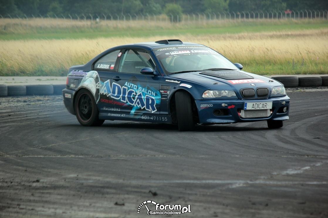 BMW E46, drift