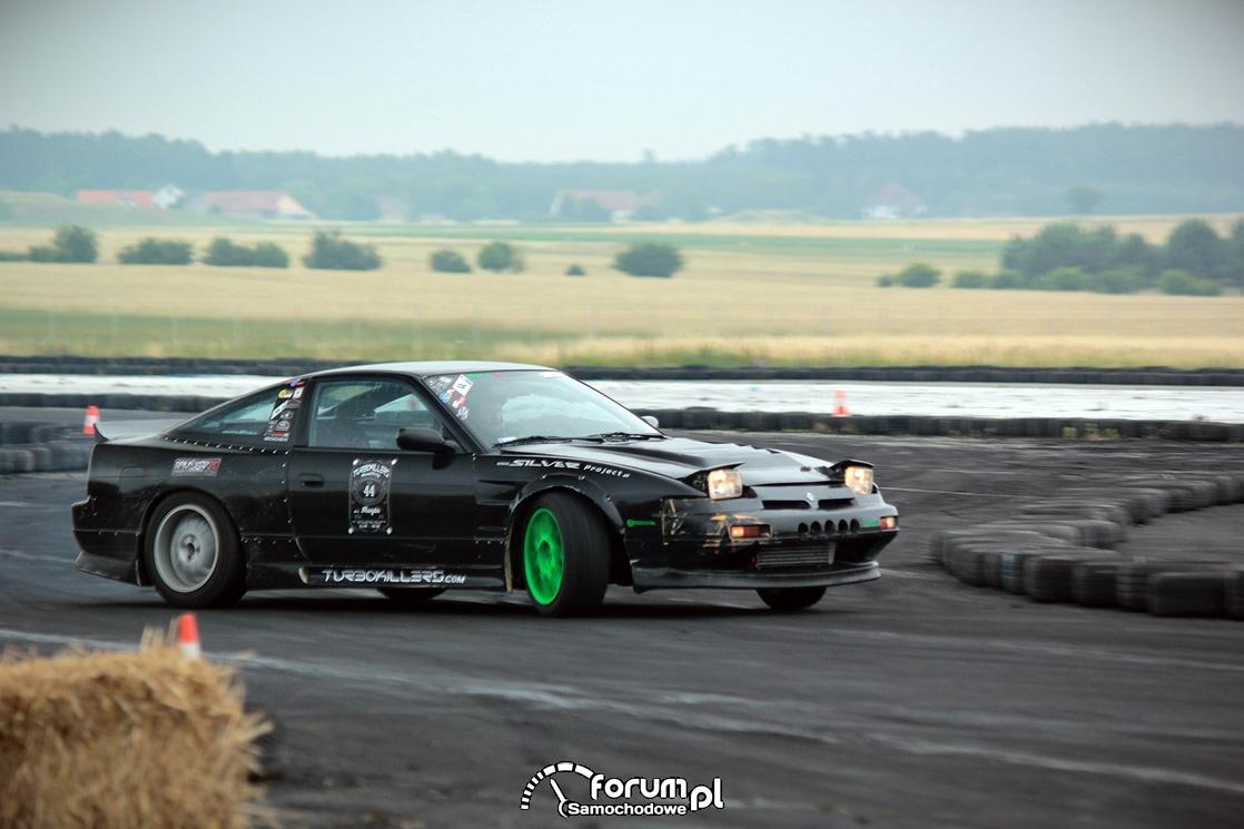 Nissan 200SX, drift, 4
