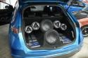 Car-Audio zabudowa bagażnika - Honda Civic