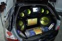 Car-Audio zabudowa bagażnika