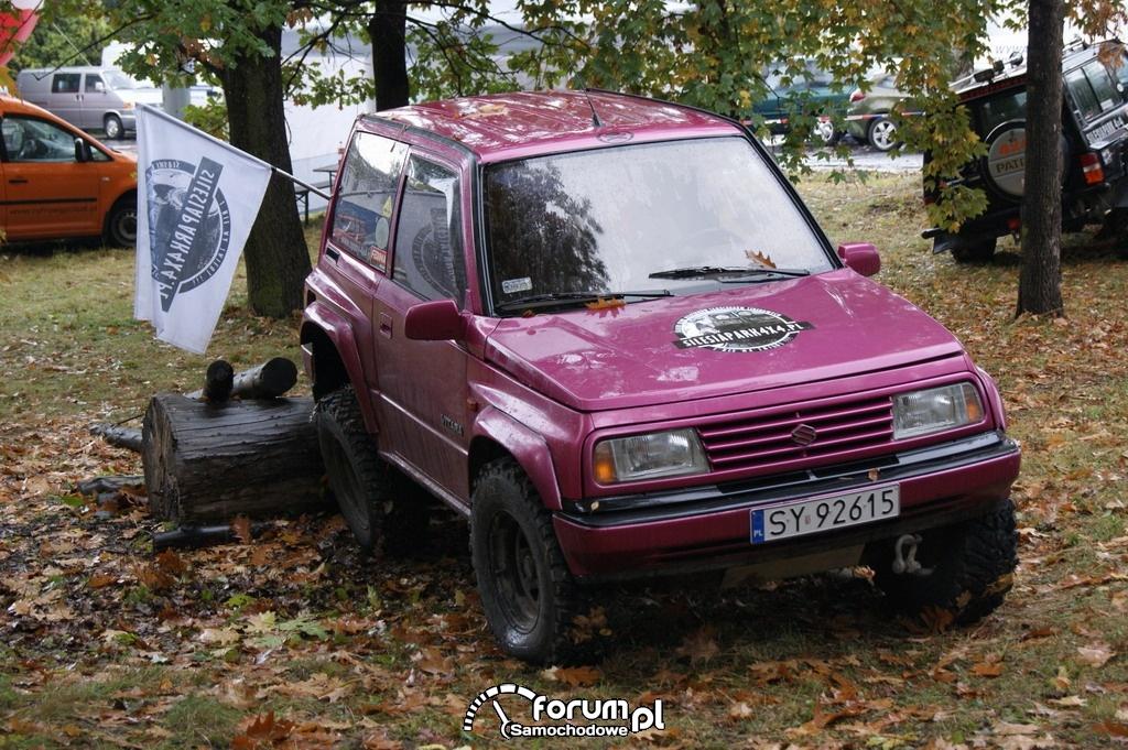 Suzuki vitara - off-road