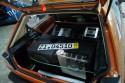 VW Golf II, zabudowa bagażnika Car audio